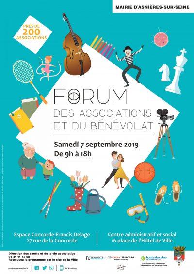 Image d'illustration de l'article actualité forum des associations et 160 7 septembre