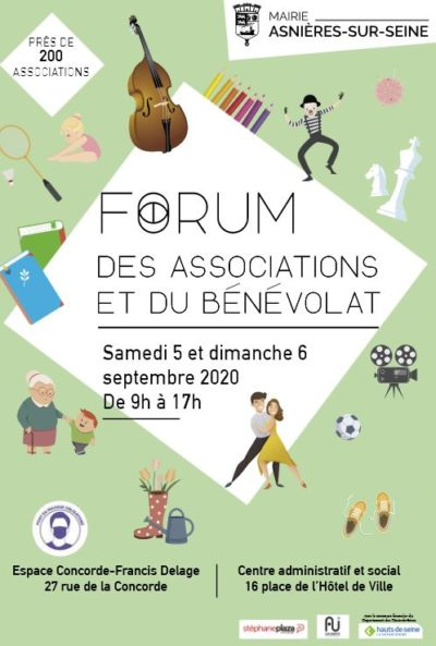 Image d'illustration de l'article actualité forum des associations et 160 septembre 2020