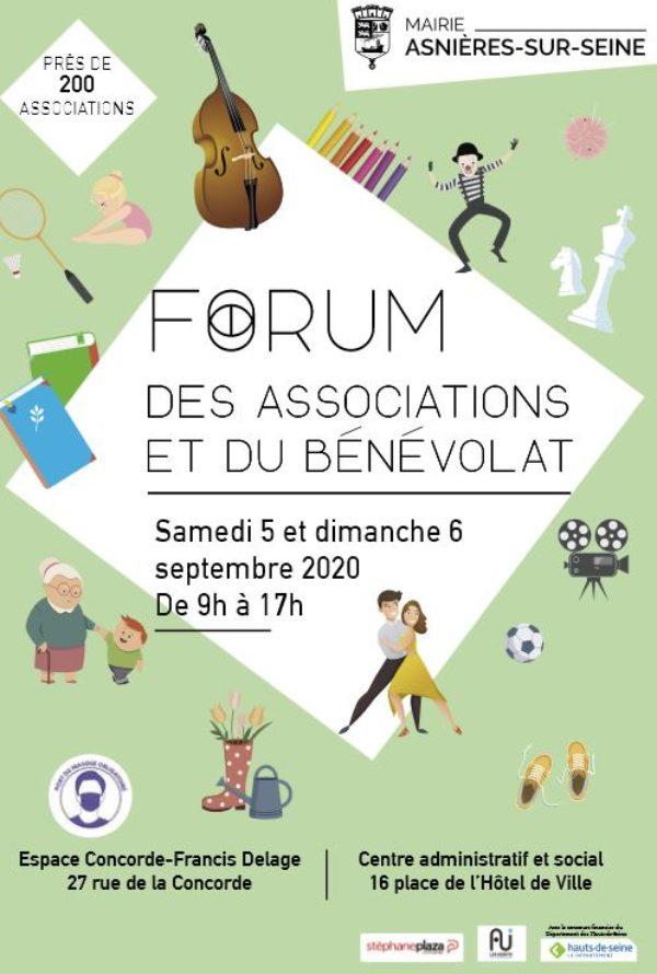 Image d'illustration de l'article actualité forum des associations et 160 septembre 2020