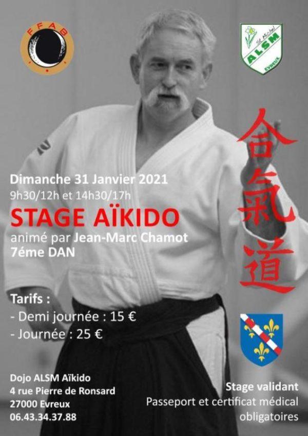Affiche de l'événement stage annulation stage à evreux annulation